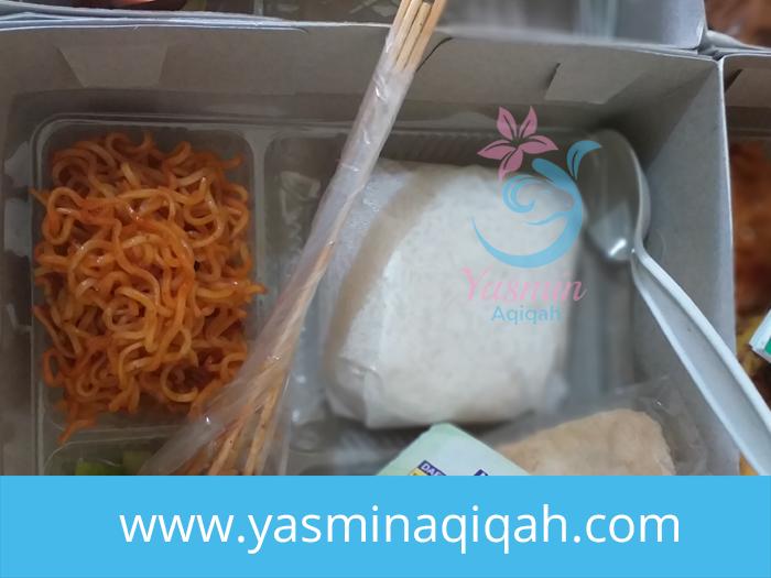 menu nasi box aqiqah